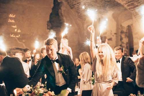 Filmning bröllop