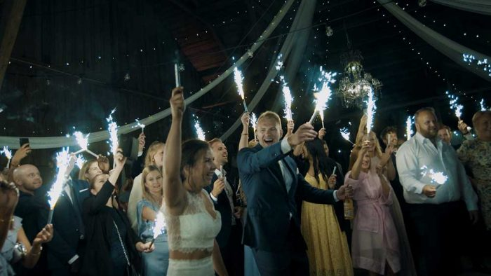 Bröllopsfilm och bröllopsfoto